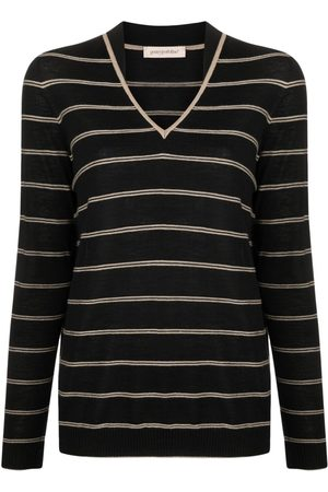 Gentry Portofino Horizontal stripe knit jumper