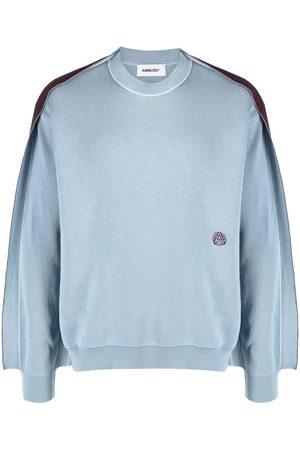 AMBUSH Hombre Jerséis y suéteres - Jersey de punto fino con paneles