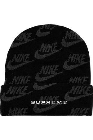Supreme X Nike jacquard logo beanie