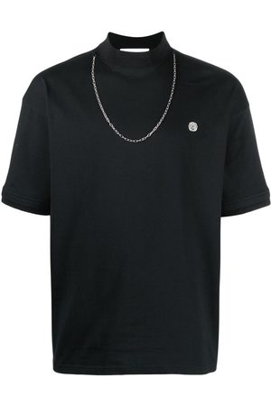 AMBUSH Camiseta con detalle de cadenas
