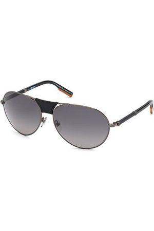 Ermenegildo Zegna Hombre Gafas de sol - EZ0177 08B Shiny Gunmetal