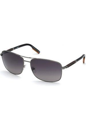 Ermenegildo Zegna Hombre Gafas de sol - EZ0176 08B Shiny Gunmetal