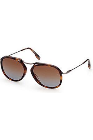 Ermenegildo Zegna Hombre Gafas de sol - EZ0164 52F Dark Havana