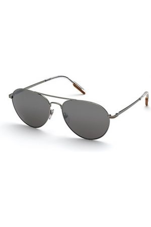 Ermenegildo Zegna Hombre Gafas de sol - EZ0175 08C Shiny Gunmetal