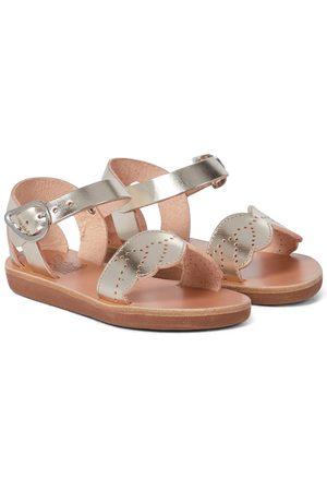 Ancient Greek Sandals Niña Sandalias - Sandalias Little Andromeda de piel