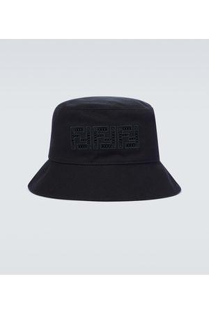 Fendi Hombre Sombreros - Sombrero de pescador de lona