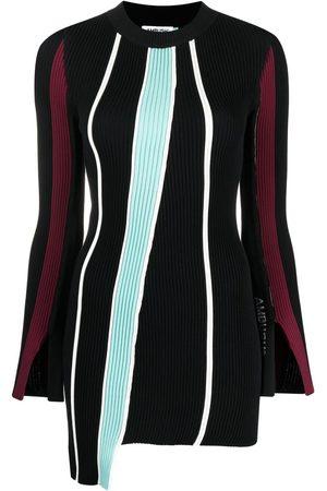 AMBUSH Falda de punto con rayas verticales