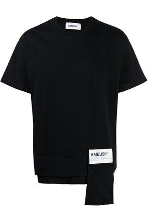 AMBUSH WAIST POCKET JERSEY T-SHIRT BLACK WHITE