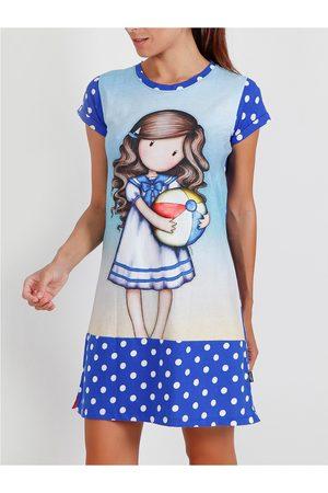 Admas Beachball Santoro camisón de manga corta para mujer