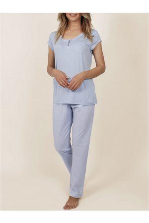 Admas Ropa interior de pijamas camisetas pantalones frescos y suaves para mujer