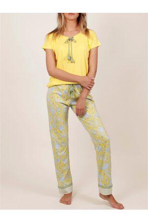 Admas Traje interior camiseta de pantalones pijama Hippy para mujer
