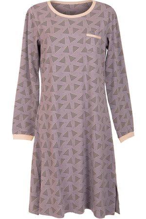 Lisca Camisón de manga larga Electra púrpura para mujer