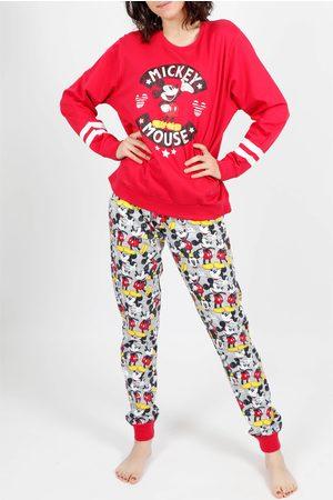 Admas Traje interior pantalones de pijama Mickey Basic para mujer