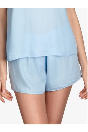 Ajour Forget-Me-Not short pyjama bottoms sky blue para mujer
