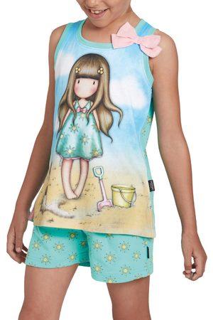 Admas Chica pijama camiseta corta Hola Verano Santoro para niña