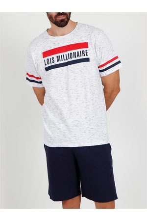 Admas For Men Camiseta corta del pijama Millionnaire Lois Admas para hombre