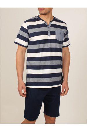 Admas For Men Camiseta de pijamas cortos camiseta Grecia Admas para hombre