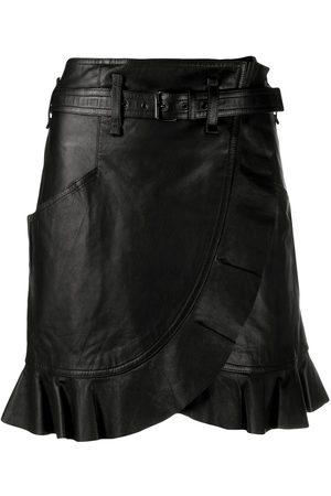 Isabel Marant Mujer Asimétricas - Falda cruzada Qing