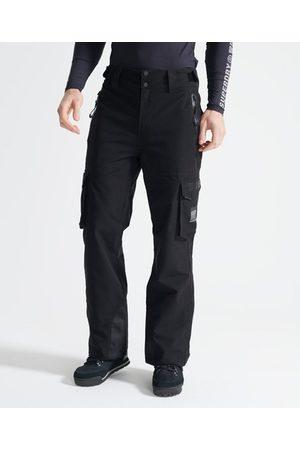 Superdry Hombre Trajes de esquí - Sport Pantalón para la nieve Ultimate Rescue