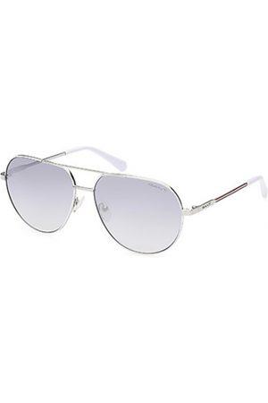 GANT Hombre Gafas de sol - GA7206 10B Shiny Light Nickeltin