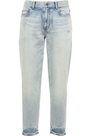 Saint Laurent | Hombre Jeans Rectos De Denim 34