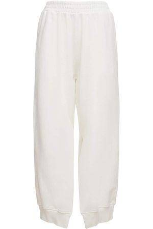MM6 MAISON MARGIELA | Mujer Pantalones Deportivos De Jersey De Algodón Xs