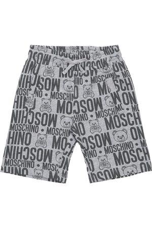 Moschino | Niño Shorts Deportivos De Algodón Con Estampado 8a
