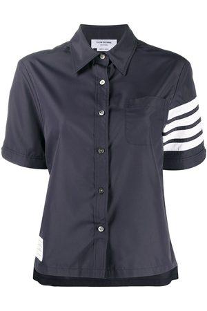 Thom Browne Mujer Camisas - Camisa con motivo 4-Bar