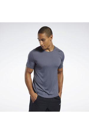 Reebok Hombre Camisetas - Camiseta de poliéster Workout Ready Tech