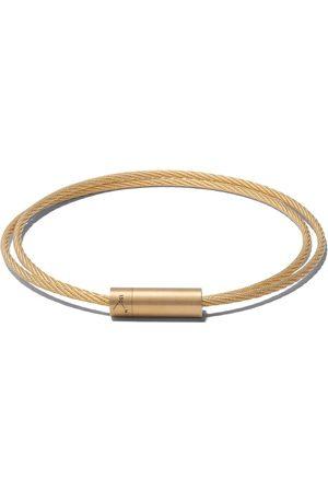 Le Gramme Pulsera Le 15 Grammes Double Cable en oro amarillo de 18kt