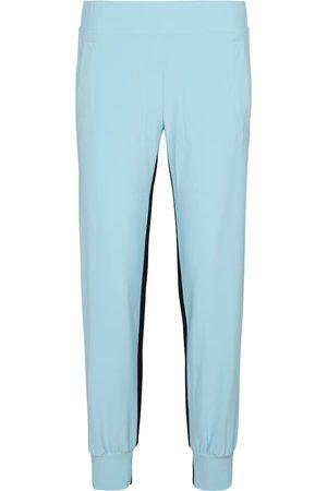 Norma Kamali Mujer Chándals - Pantalones de chándal con raya