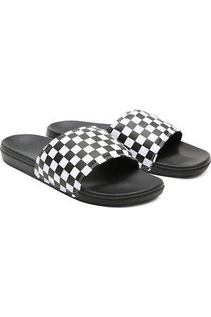 Vans Hombre Chanclas - Chanclas Checkerboard La Costa Slide-on Para Hombre