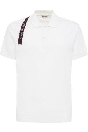 Alexander McQueen | Hombre Camiseta Polo De Algodón Con Logo S