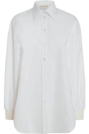 Alexander McQueen Mujer Camisas - | Mujer Camisa De Popelina Gruesa 38