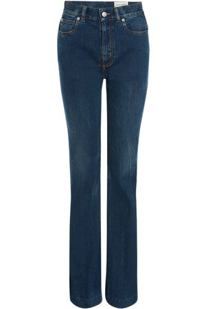 Alexander McQueen | Mujer Jeans De Denim De Algodón Stretch 25