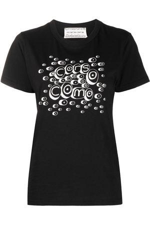 10 CORSO COMO Mujer Tops - Camiseta con logo estampado