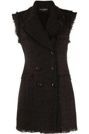 Dolce & Gabbana Vestido con doble botonadura