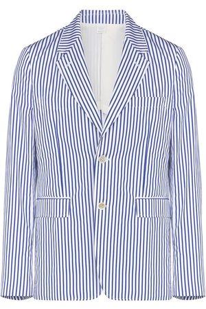 Comme des Garçons Hombre Blazers - Stripe-pattern blazer jacket