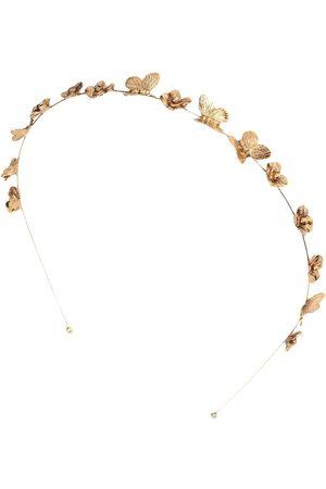 Jennifer Behr Mujer Accesorios del pelo - Diadema Pippa con charm de mariposa