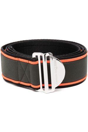 Alexander McQueen Hombre Cinturones - Cinturón con hebilla del logo