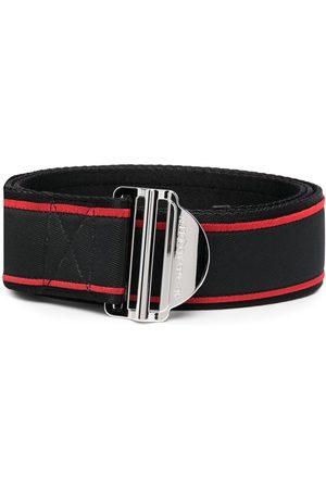 Alexander McQueen Hombre Cinturones - Cinturón con logo estampado