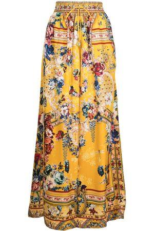 Camilla Pantalones anchos con estampado floral