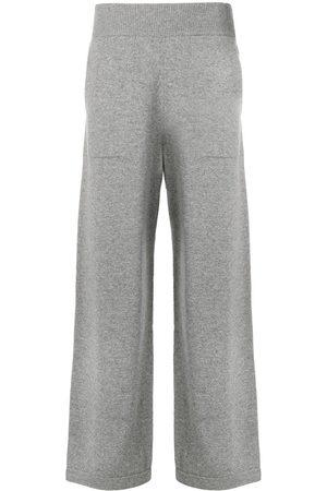 Barrie Mujer Pantalones acampanados - Pantalones de punto acampanados