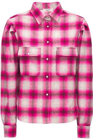 Isabel Marant | Mujer Camisa De Mezcla De Lana De Cuadros /multi 34