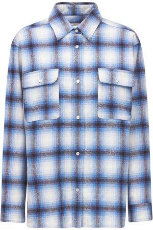 Isabel Marant Mujer Camisas - | Mujer Camisa De Mezcla De Lana Con Cuadros /multi 34