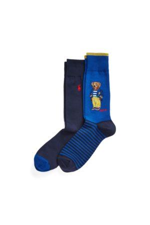 Polo Ralph Lauren Hombre Calcetines - 2 pares de calcetines con Polo Bear