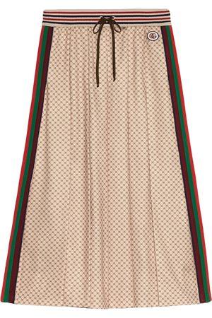 Gucci Mujer Acampanadas - Falda con tribanda Web