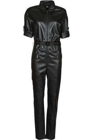 Karl Lagerfeld Mono FAUXLEATHERJUMPSUIT para mujer