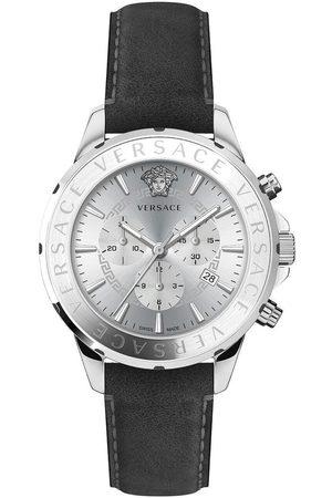 VERSACE Reloj analógico VEV600119, Quartz, 44mm, 5ATM para hombre