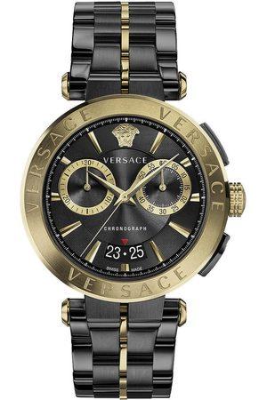 VERSACE Reloj analógico VE1D01620, Quartz, 45mm, 5ATM para hombre